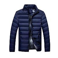 Heren slim fit verdikking Solid Color Cotton Garment Zip Fashion Jacket