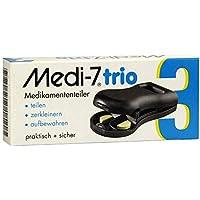 MEDI 7 trio Tablettenteiler grau 1 St preisvergleich bei billige-tabletten.eu
