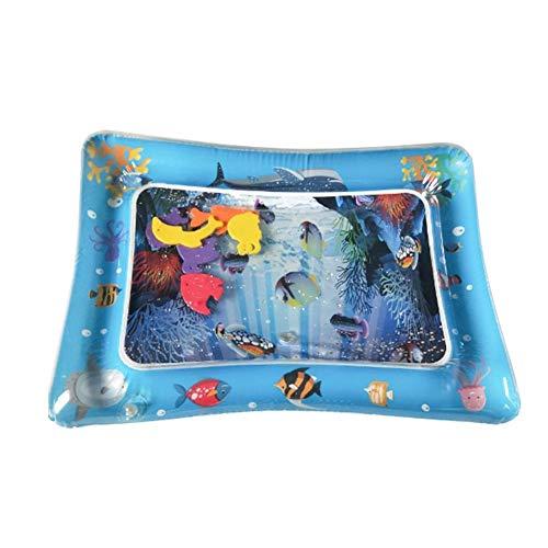 Baby-Spielmatte Rutschfeste Wasser Playmat Säuglingsspielzeug Pad, Marine Life Kids Activity Center Für Kraftkoordination Gehirn Entwicklung Niedlich Tragbare Bouncy Geschenk Für Jungen Mädchen