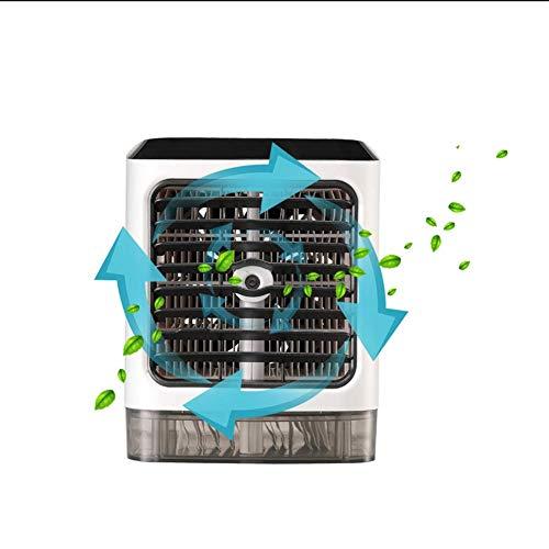 13w Luft (NINGNING Luftkühler,Tragbare Klimaanlage Air Cooler Luftbefeuchter,6-15W 3 in1 Mobile Klimaanlage Luftreiniger Büro Desktop Mini-Ventilator für Zuhause,drinnen,Küche,im Freien)