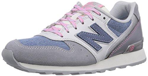 New Balance NBWR996EA Sneaker Blu (Denim Blue with Lavender & White)