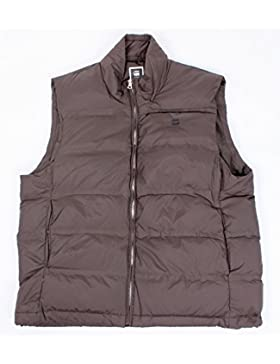 G-Star Lockstart Down Vest Veste Marron Dark Nut Homme