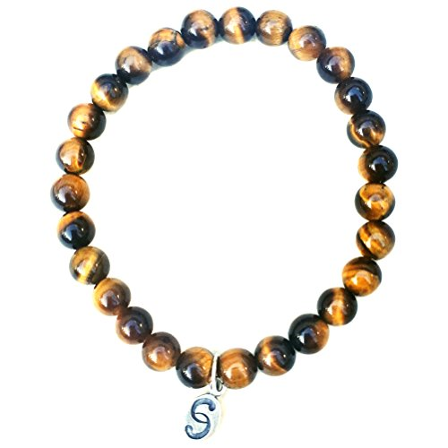 tigers-eye-stretch-bracelet-semi-precious-stones-apoccas-agni-amber-brown-6-mm-diameter-sterling-sil