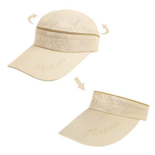 Herren Ultradünne Baseball Cap Mesh Baseballmütze Hüte schnell-trocknend Sport Cap Damen Sommerhut Sonnenblende Sonnenschild für Draußen, Sport und Steigen
