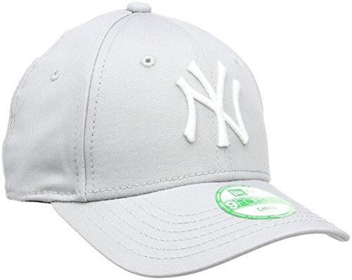 New Era Erwachsene Baseball Cap Mütze Kids M/LB Basic 9Forty Adjustable, Grey/White, One size, 10879075