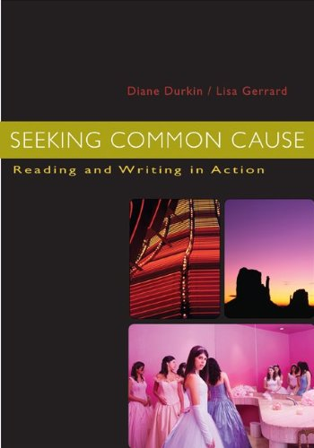 Seeking Common Cause: Reading and Writing in Action
