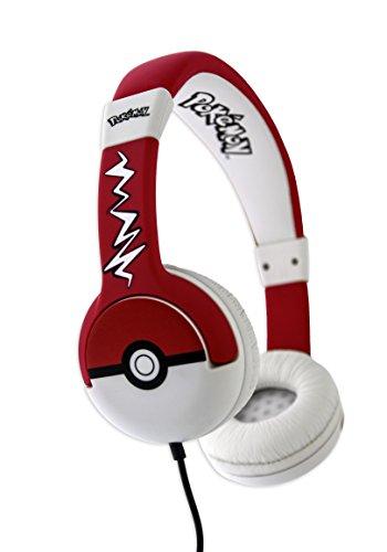 OTL Technologies - Pokémon Pokeball Headphones for Children Aged 3-7 Years Best Price and Cheapest