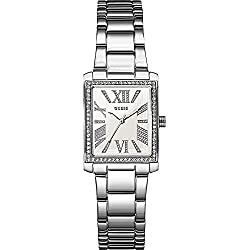 Guess W0569L1 Silver Steel Bracelet & Case Mineral Women's Watch