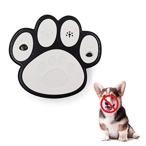 Ultraschall Hunde Anti Barking Gerät, Leegoal Stopp Bellen, kein Barken Trainings Werkzeug, wasserdichter Außen- und Innenantikörperhund Barken Prüfer, Barken-Endvertreiber, Safe für kleine/mittlere/große Hunde