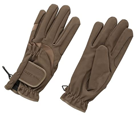 Harry Hall Domy Suede Gloves - Brown,
