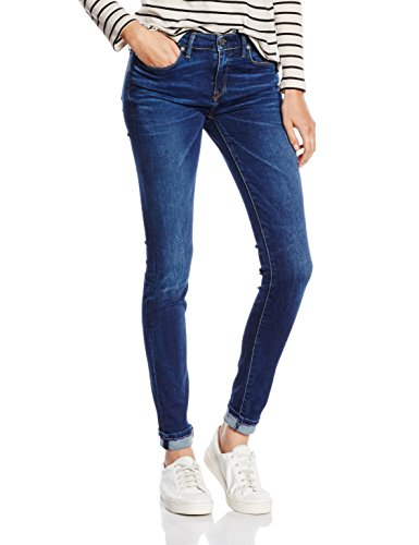 Tommy Hilfiger Damen Skinny Jeanshose COMO RW, Gr. W27/L32, Blau (DOREEN 410) Preisvergleich