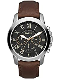 Fossil Grant Chronograph Black Dial Men's Watch - FS4813