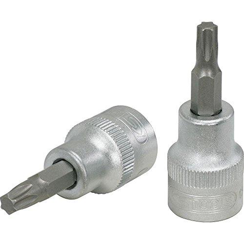 KS Tools 911.3884 - Llave de vaso con punta para tornillos Torx (T50, 3/8')
