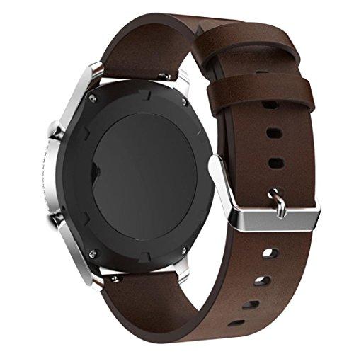 Pour Samsung Gear S3 Frontier, Malloom® Bracelet de remplacement en cuir Bandoulière