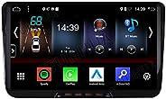 "Android 10 2GB+32GB Carplay+Android Auto 2-Tuner Autoradio DSP Bluetooth 5.0 9"" GPS Navigation für VW Pas"
