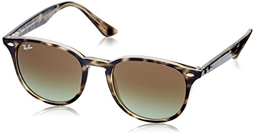 RAYBAN JUNIOR Unisex-Erwachsene Sonnenbrille RB4259, Havana Grey/Green Gradient Brown, 51