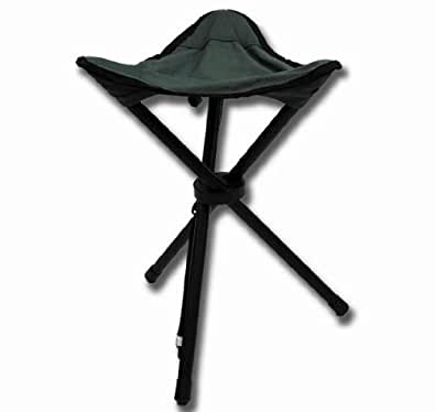 Highlander Small 3 Leg Folding Tripod Stool Hunting New