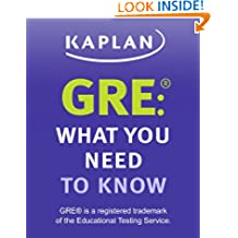 GRE: What You Need to Know: An Introduction to the GRE Revised General Test (Kaplan Test Prep)