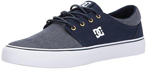 DC Trase TX Se M Shoe LGR, Sneakers da Uomo Navy/Gold