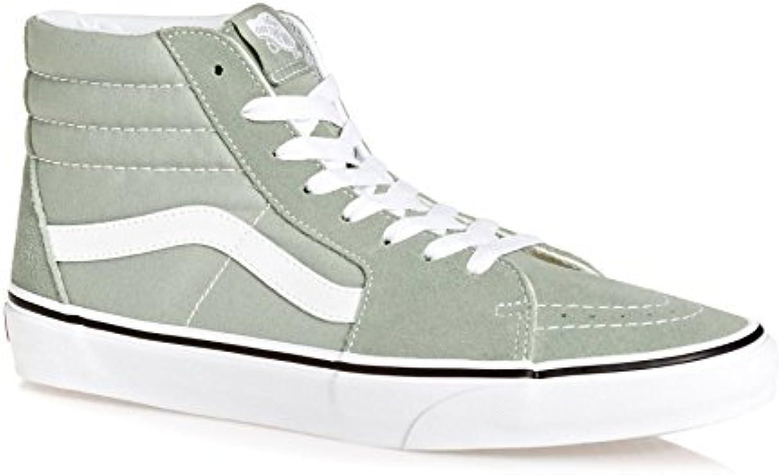 Vans Sk8-Hi Slim VQG3BKA - Zapatillas clásicas de lona unisex