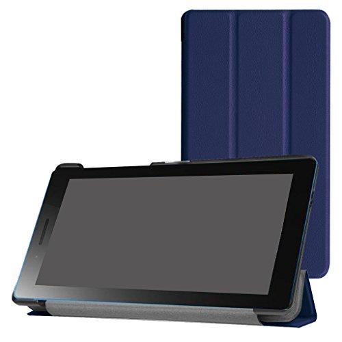 Mama Mouth Lenovo Tab3 A7-30 Schlank hülle, Ultra Schlank Superleicht Ständer PU Leder Smart Shell hülle mit Standfunktion für 7
