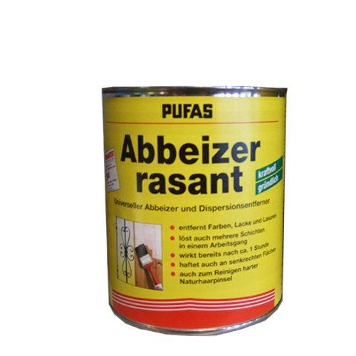 Pufas Abbeizer RASANT 2,5L - universeller Abbeizer Farben Lacke Lasuren und reinigen von harten Pinseln