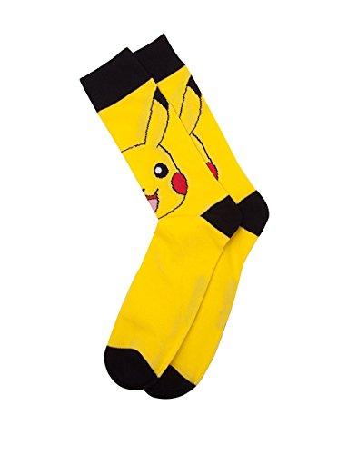 Pokmon-fedcr021097pok-4346–Pikachu-tripulacin-calcetines-tamao-9–11-talla-nica
