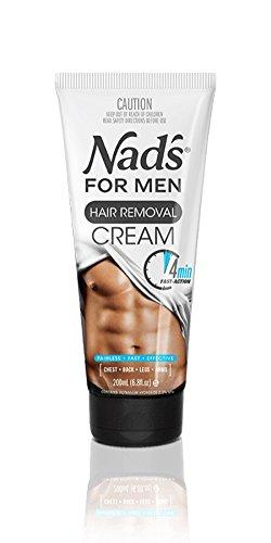 NAD'S Crema Depilatoria para Hombres - 200 ml