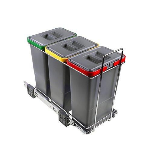 ELLETIPI Ecofil PF01 34A3 - Cubo Basura Reciclaje