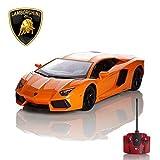 Ferngesteuertes Auto Lamborghini Aventador 1.24 orange Official