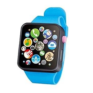 Egosy Kinder Analoge intelligente Uhr Spielzeug Früherziehung Armbanduhr 3D Touch Screen Musikgeschichte Baby Geschenke Fashion Smartwatches für Jungen und (Grün)