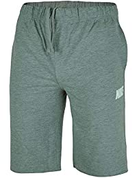 a794684cc2035d Nike Herren Shorts Nike Mens Shorts Cotton Jersey Sports Shorts Gym Fitness  Grey S -XL