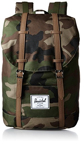 Herschel Supply Company SS16 Casual Daypack, 19.5 Liters, Woodland Camo/ Tan