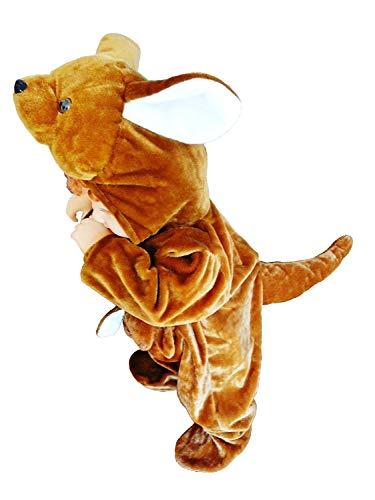 Kostüm Tragen Baby Känguru - PUS Känguru-s Kostüm-e Baby F53 Gr. 80-86, Kat. 3, Achtung: B-Ware Artikel. Bitte Artikelmerkmale lesen! kleine Kind-er Babies Tier-e Mädchen Junge-n Fasching-s Karneval-s Fasnacht-s Geburtstags-