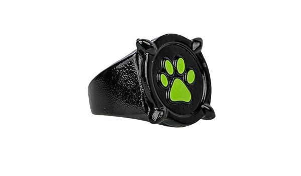 Diam/ètre 22.2mm Miraculous Ladubug Deguisement Accessoire Bague de Cat Noir Zinc Alliage pour Enfant et Adulte Unisexe