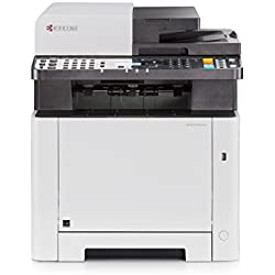 Imprimante laser couleur Kyocera Ecosys M5521cdw. Multifonction: copie, scanner, fax. Impression wifi smartphone, tablette