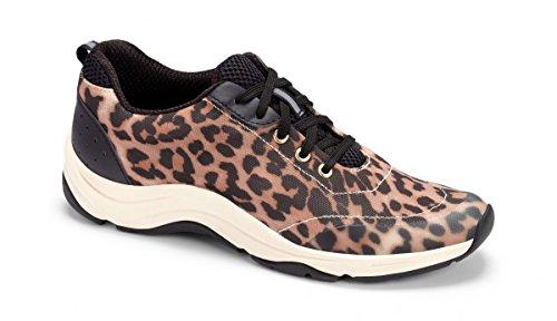 Vionic Tourney, Chaussures Multisport Outdoor Femme Tan Leopard