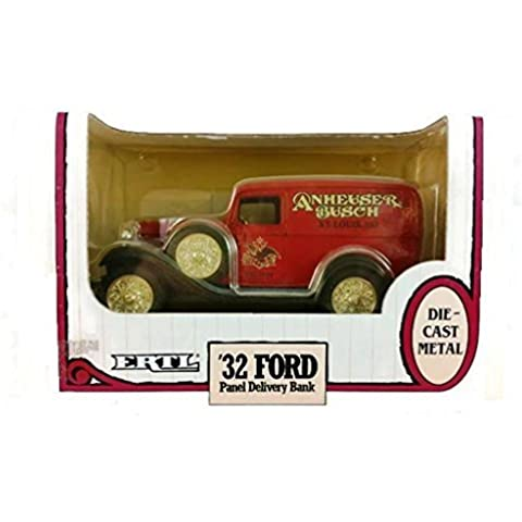 Bank - 1932 Ford Panel Delivery Truck Anheuser Busch Logo by ERTL - Ertl 1932 Ford Panel
