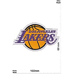 Parches - Los Angeles Lakers - National Basketball Association Team - NBA - Sports - extreme sports - Chaleco - Parche Termoadhesivos Bordado Apliques - Patch - Give Away Regalar
