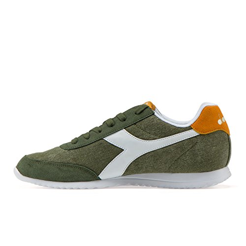 Diadora Jog Light C, Chaussures de Gymnastique Homme Vert (Verde Olivine)