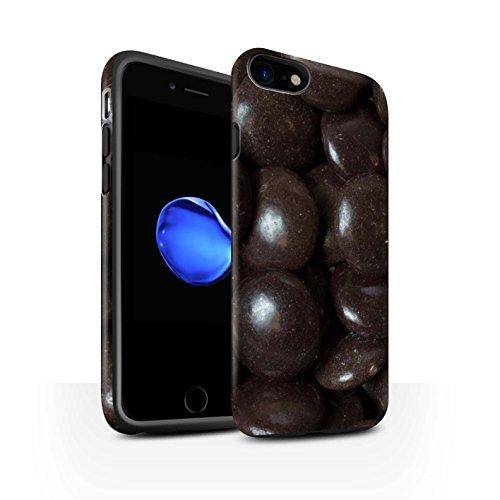 STUFF4 Matte Harten Stoßfest Hülle / Case für Apple iPhone 8 / Fruit Pastilles Muster / Bonbons/Süßigkeiten Kollektion Minstrels