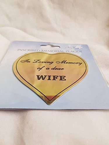 Wife Autocollant pour pots de Mémorial