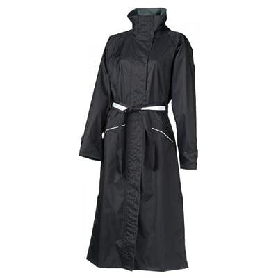 AGU Damen Regenjacke Mantel Malaga schwarz Jacke wasserdicht 4 Größen, 950246