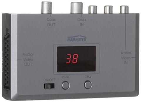 Marmitek A/V transmitters over Coax and CAT5: MegaView20 Audio Video Sender over Coax