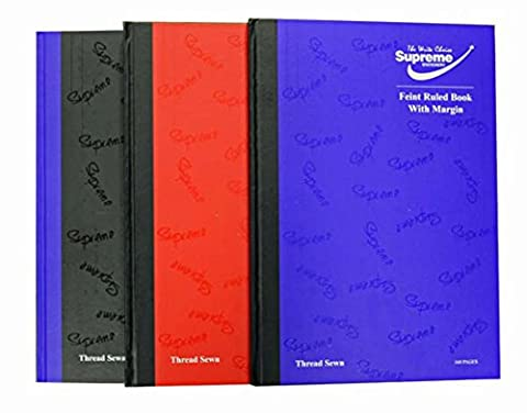 1 x A4 Assorted 160 Page Hardback 80GSM + Pen