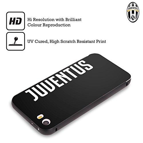 Ufficiale Juventus Football Club Banale Lifestyle 2 Nero Cover Contorno con Bumper in Alluminio per Apple iPhone 6 Plus / 6s Plus Logotype