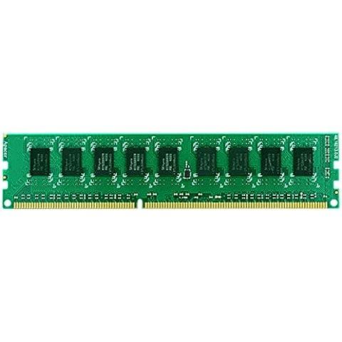 SYNOLOGY RAMEC1600DDR3 2x 2GB ECC - memoria RAM para RS3614xs+ (s (Marvell Armada 385 88F6820, 32-bit,Dual Core 1.0 GHz, 512 MB DDR3)