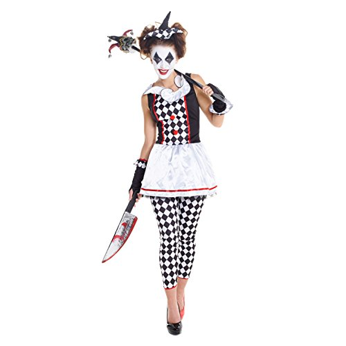womens-red-and-black-evil-jester-joker-fancy-dress-costume-4-piece-quality-costume