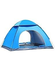 Instantánea Pop Up tienda de campaña portátil Cabana sol refugio rápida para al aire libre 3–4persona CAMPING pesca Picnic