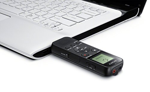 Sony-ICD-PX370-Mono-Digital-Voice-Recorder-with-Built-In-USB-4-GB-Memory-SD-Memory-Slot-55-Hours-Recording